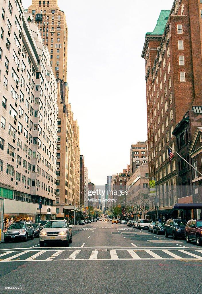 Upper East Side, New York City : Stock Photo