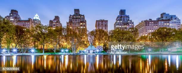 Upper East Side skyline at dusk