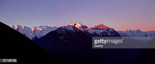 Upper engadin, Schweiz.