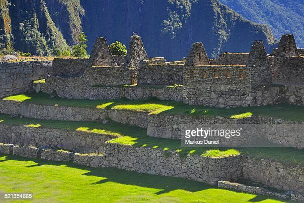 Upper Group in Machu Picchu, Peru