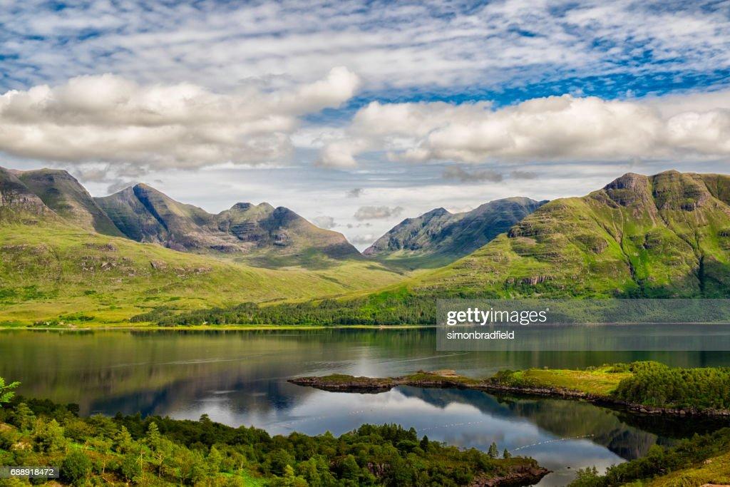 Upper Loch Torridon In Scotland's Northwest Highlands : Stock Photo
