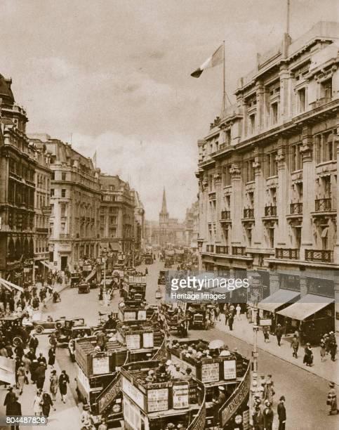 Upper part of Regent's Street London c1910sc1920s