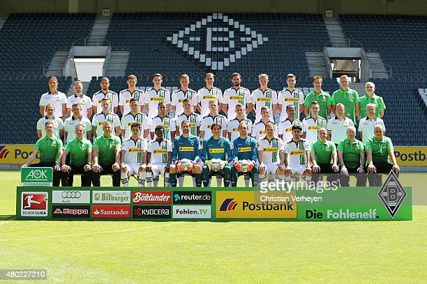 Upper row starts with Athletic Coach Klaus Luisser Rehabilitation Coach Andreas Bluhm Alvaro Dominguez Andreas Christensen Branimir Hrgota Nico...