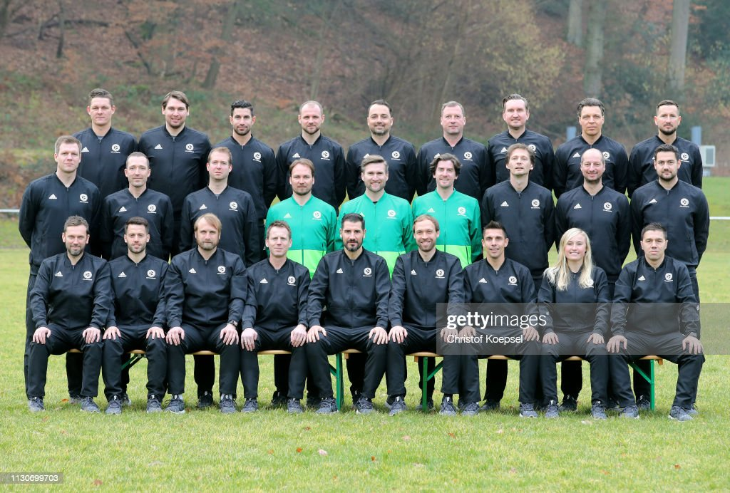 DEU: DFB Pro Licence Coaching Course - Portrait Session