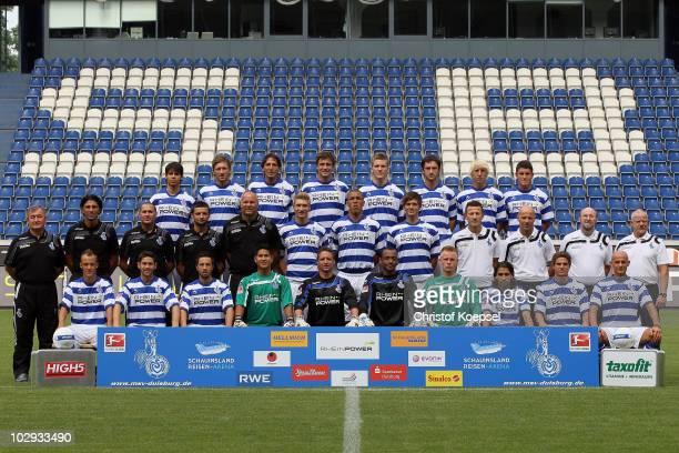 Upper row with Burakcan Kunt, Adam Bodzek, Ivica Grlic, Daniel Reiche, Andre Hoffmann, Branimir Bajic, Julian Koch and Sefa Yilmaz, the middle row...