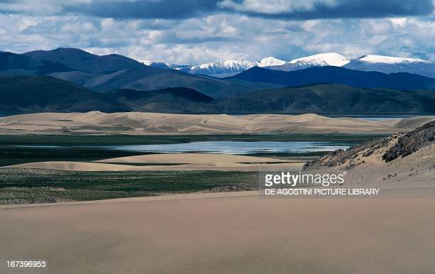 Upper valley of the Brahmaputra River Tibet China