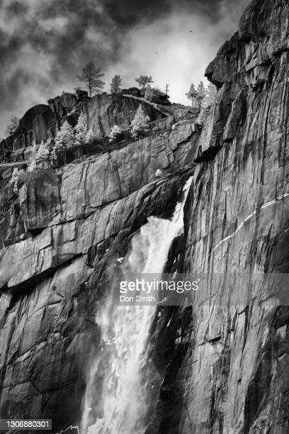 upper yosemite fall, yosemite national park - don smith stock pictures, royalty-free photos & images
