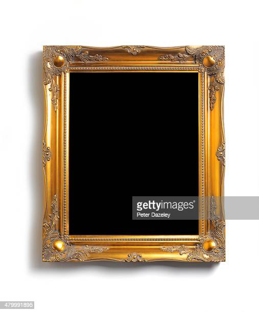 Upright picture frame with black copy space