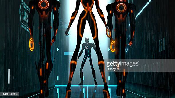 UPRISING 'TRON Uprising Beck's Beginning' Disney XD delves inside the computer world of The Grid and the people who live there with 'TRON Uprising' a...