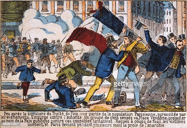 Uprising leading to the establishment of the Paris Commune, 1871. The Paris Commune was established when the citizens of Paris, many of them armed...