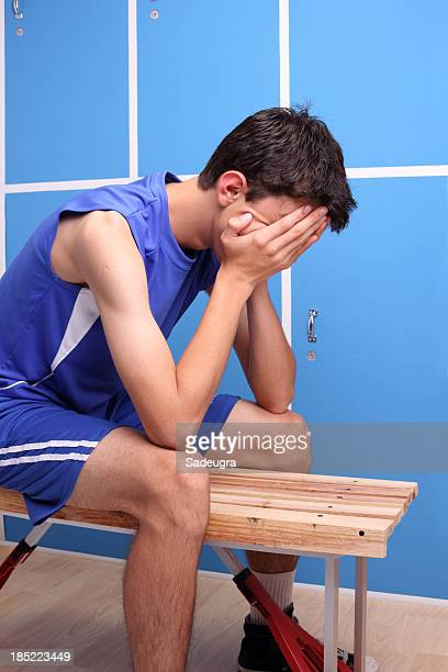 Upset Young Athlete