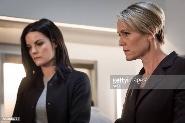 BLINDSPOT 'Upside Down Craft' Episode 303 Pictured Jaimie Alexander as Jane Doe Mary Stuart Masterson as Director Hirst