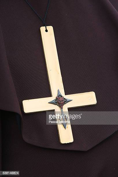 Antichrist Symbol Stock Photos And Pictures Getty Images