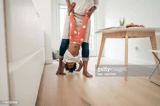 upside down fun - mental wellbeing stock pictures, royalty-free photos & images