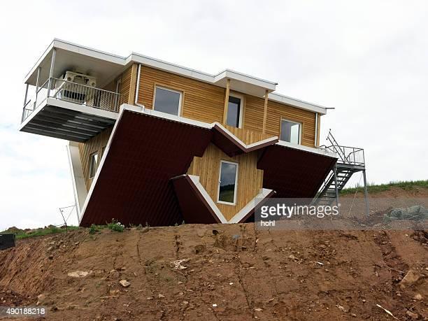 upside down-Kopfstand eines house