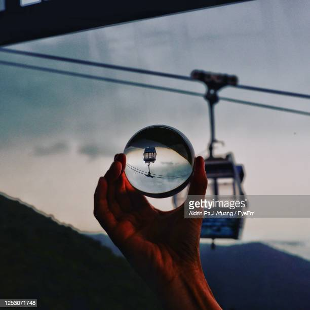 upside down in the sky - lantau stock pictures, royalty-free photos & images
