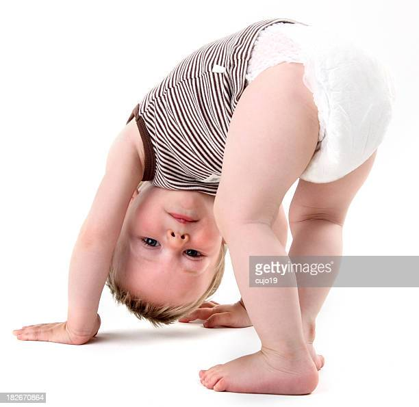 Upsidedown enfant