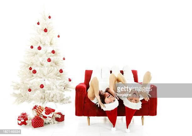 Upsidedown Weihnachten Paar