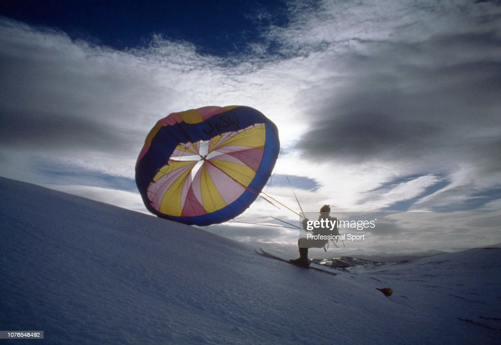 Up-Skiing On The Cairngorms : News Photo