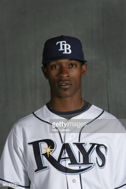J Upton of the Tampa Bay Rays poses during Photo Day on February 22 2008 at the Raymond A Naimoli Baseball Complex in St Petersburg Florida