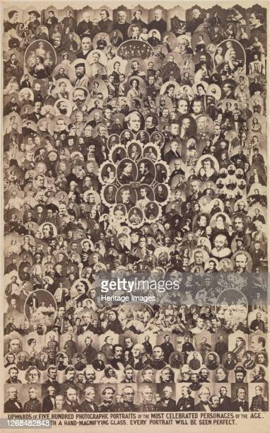 Upwards of Five Hundred Photographic Portraits of the Most Celebrated Personages of the Age circa 1864 Artist Ashford Brothers Co