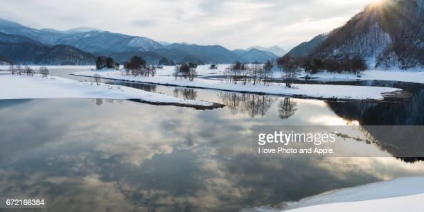 Ura-Bandai winter scenery