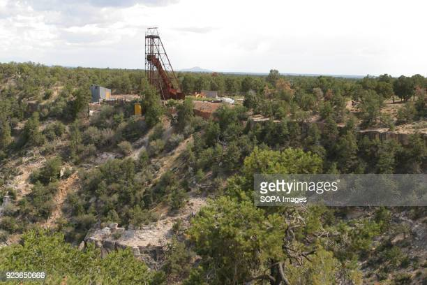 A uranium mine has been played out in the Grand Canyon National Park One of the United States oldest National Parks the Grand Canyon host view of a...