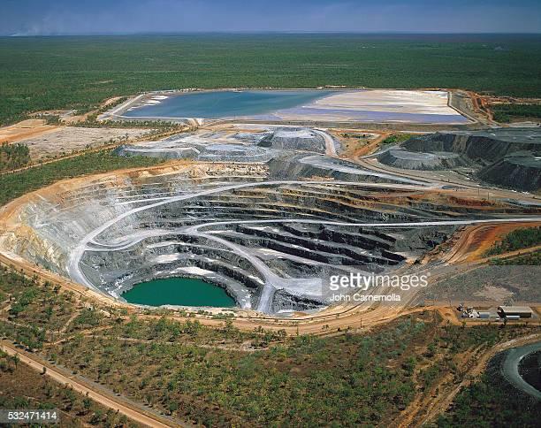 uranium ranger mine, northern territory, australia - uranium stock pictures, royalty-free photos & images