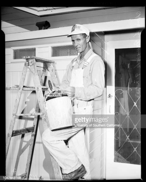 Uranium story, 28 September 1954. Mrs Frances Bartlett -- 21 years;Jon Donnie Bartlett -- 17 months;Donald C Bartlett;Edwin Musick -- 7 years;Mrs...