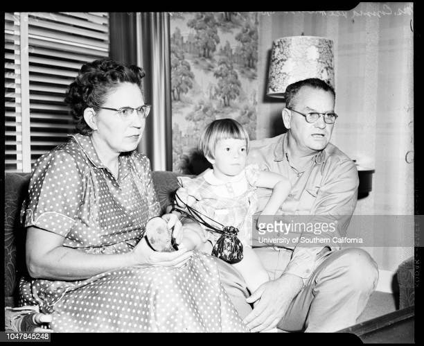 Uranium story 28 September 1954 Mrs Frances Bartlett 21 yearsJon Donnie Bartlett 17 monthsDonald C BartlettEdwin Musick 7 yearsMrs Lillie Musick 44...