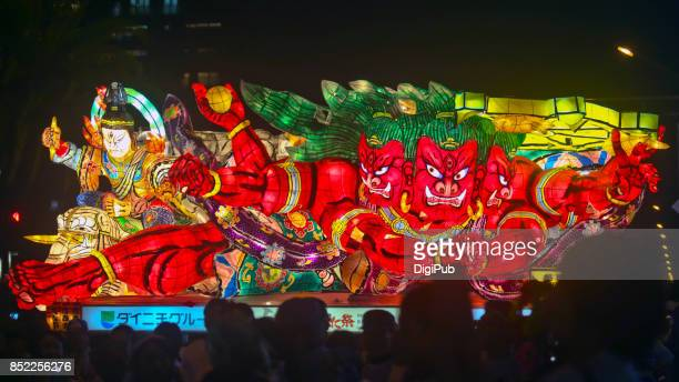 Urayasu Festival 2017 - Aomori Nebuta lantern float (Asura)