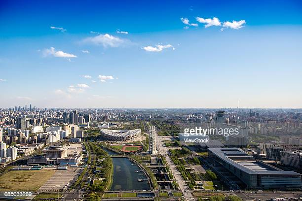 Urban architecture in Beijing