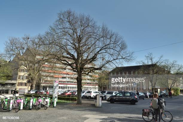 urban architecture in switzerland vaud - vaud canton stock pictures, royalty-free photos & images