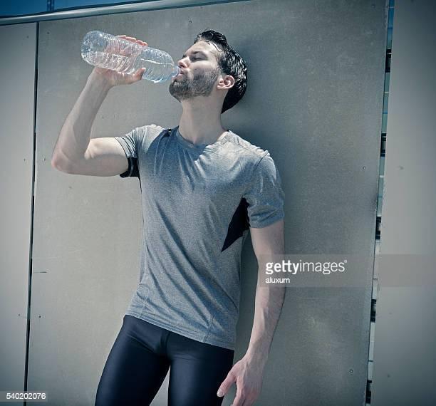 Stadt-Athleten Trinkwasser