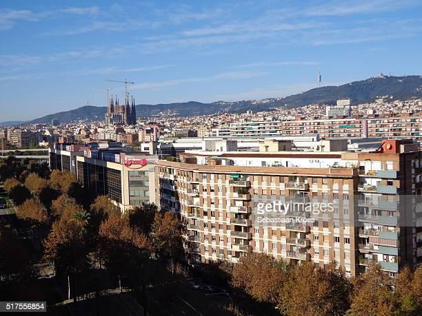 Urban Barcelona, Sagrada Familia, Barcelona, Spain