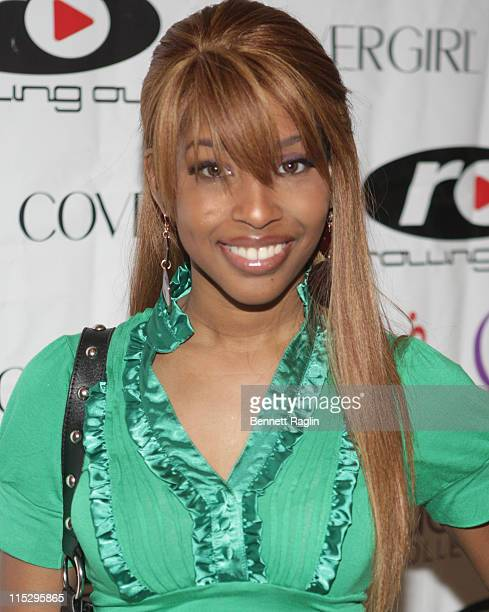 Urban blogger Necole Bitchie attends the Female Success Factor Creative Success seminar on June 21 2008 at the Brooklyn Academy of Music in New York