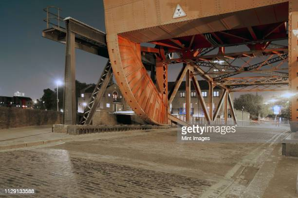 urban bridge in east london - east london stock pictures, royalty-free photos & images