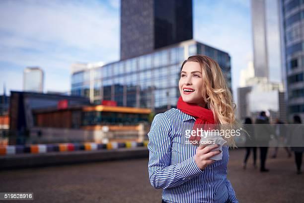 urban business Frau