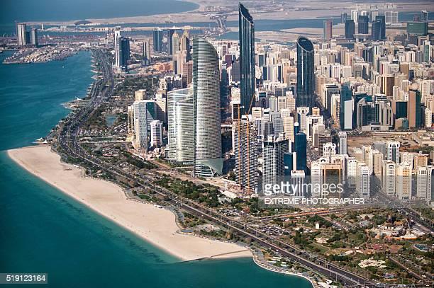zona urbana della città di Abu Dhabi