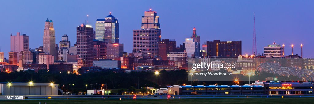 Urban cityscape at night : Stock Photo