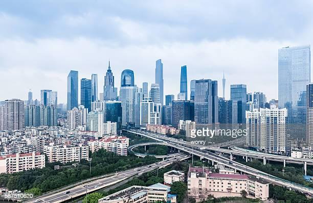 Urban cityscape day