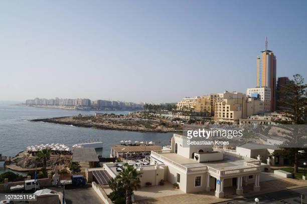 Urban Coastline of Malta, Portomaso Tower, St Julians, Malta