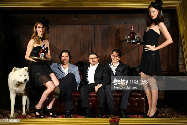 CEO Urban Daddy Lance Broumand JC Iglesias Marketing Director Scotch and Cognac for Pernod Ricard USA Laurent Cutier Senior Brand Manager for Chivas...