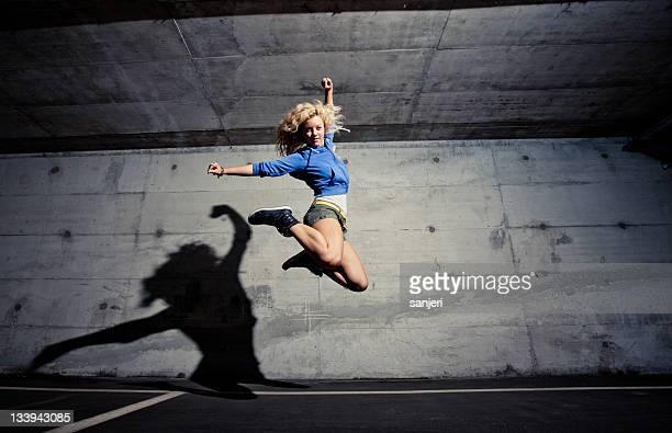Urban dance jump