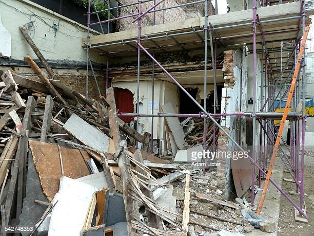 urban decay, demolition - run down stock pictures, royalty-free photos & images
