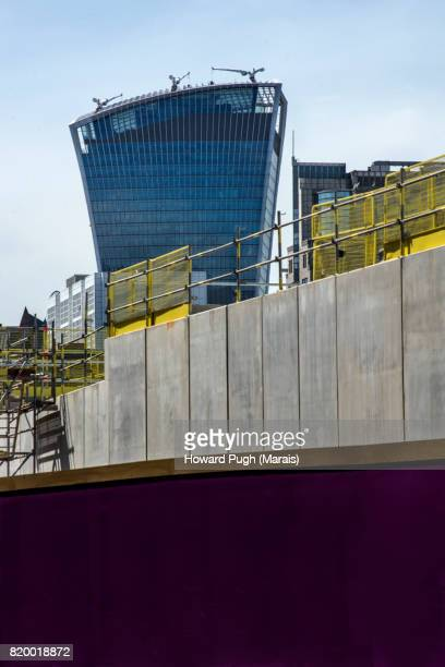 Urban Design, Color & Construction: Royal Mint and Leman Street