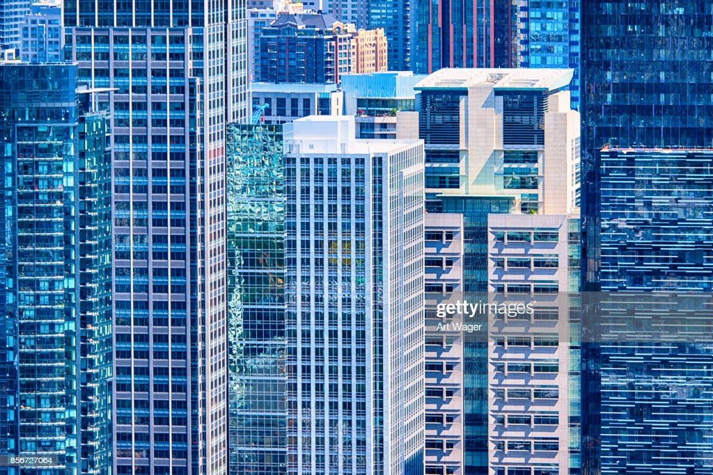 Urban Downtown Building Backgroud : Stock Photo