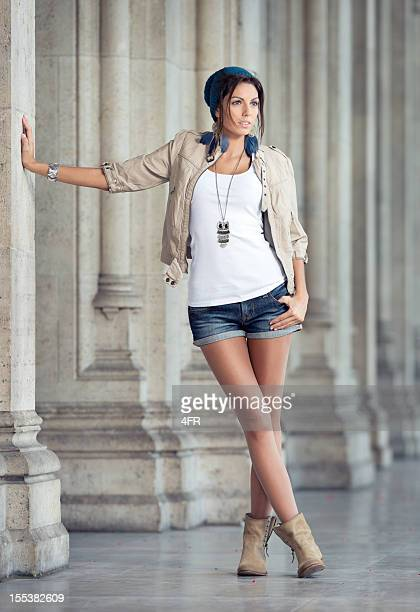 urban fashion (xxxl) - hot pants stock photos and pictures