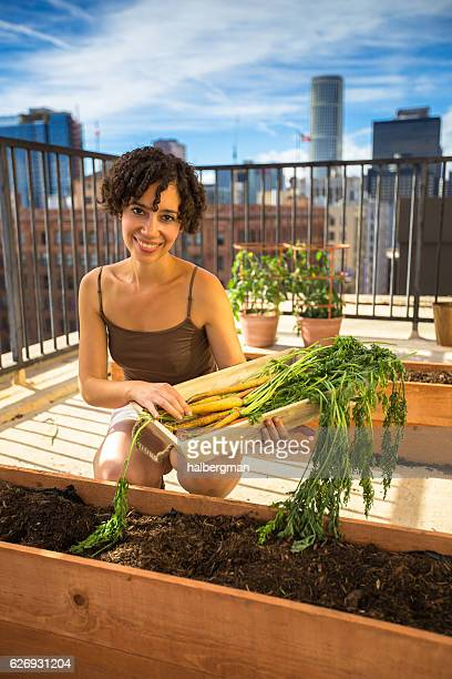Urban Gardener in Her Element