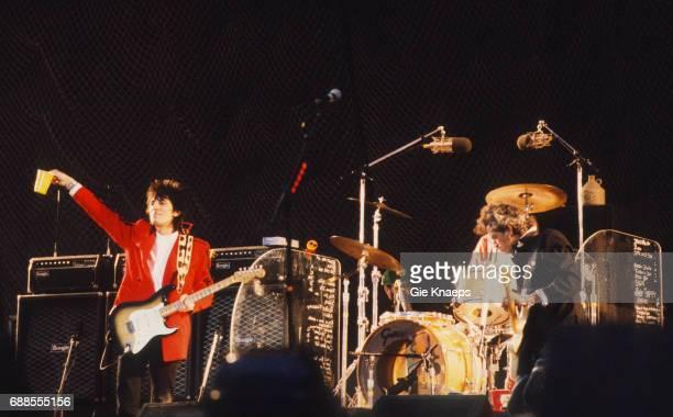 Urban Jungle Tour, Keith Richards, Ron Wood, The Rolling Stones, Feyenoord Stadion , Rotterdam, Holland, .